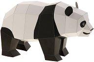 Хартиен свят: Панда - Модел за сглобяване - хартиен модел