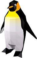 Хартиен свят: Императорски пингвин - Модел за сглобяване - хартиен модел