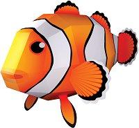 Хартиен свят: Риба-клоун - Модел за сглобяване - играчка