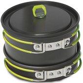 Алуминиеви съдове за готвене - Rover L - Комплект от 4 части