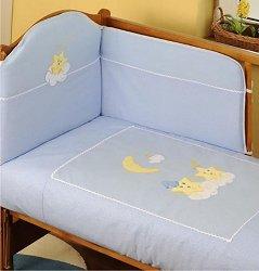 Спален комплект за бебешко креватче - Duet Stars -