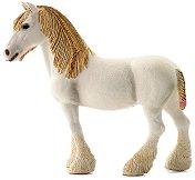 """Шайрска кобила - Фигура от серията """"Животните от фермата"""" - творчески комплект"""
