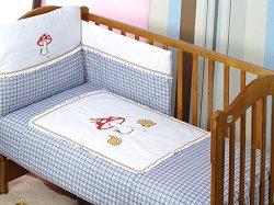 Спален комплект за бебешко креватче - Duet Forest -