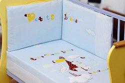 Спален комплект за бебешко креватче - Stork -