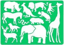 Шаблон - Животните от Африка