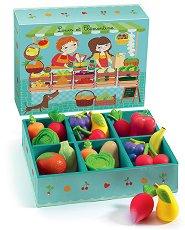 Щанд за плодове и зеленчуци - играчка
