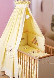 Спален комплект за бебешко креватче - Bear -