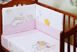 Спален комплект за бебешко креватче - Bath -