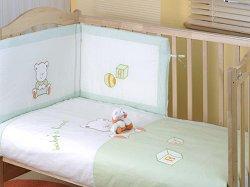 Спален комплект за бебешко креватче - Baby Heart -