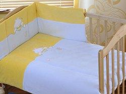 Спален комплект за бебешко креватче - Hippo -