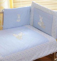 Спален комплект за бебешко креватче - Rabbit -