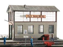 Депо за поддръжка на локомотиви - макет