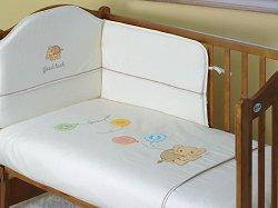 Спален комплект за бебешко креватче - Baloniki - продукт