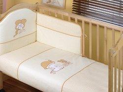 Спален комплект за бебешко креватче - Mes Amis -