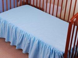 Чаршаф с волан за бебешко креватче - Panorama Kora -