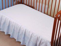 Чаршаф с волан за бебешко креватче - Dobranocka -
