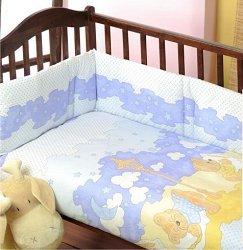 Спален комплект за бебешко креватче - Dobranocka - продукт