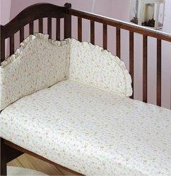 Спален комплект за бебешко креватче - Owieczki - продукт