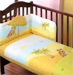 Спален комплект за бебешко креватче - Sunny Day - продукт