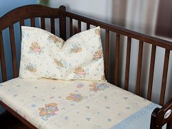 Бебешки спален комплект от 2 части - Butterfly Expo - 100% памук за матраци с размери 60 x 120 cm и 70 x 140 cm -