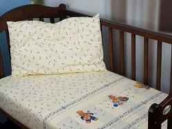 Бебешки спален комплект от 2 части - Music Expo - 100% памук за матраци с размери 60 x 120 cm и 70 x 140 cm -