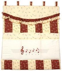 Органайзер за бебешко креватче - Music -