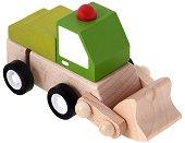 Снегорин - Дървена играчка с механизъм - играчка