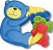 Дрънкалка - Мече - За бебета над 3 месеца -