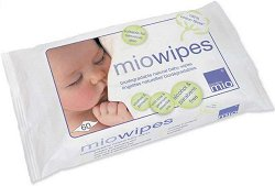 Бебешки мокри кърпички - Опаковка от 60 броя - гел