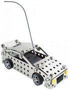 Състезателна кола - Детски метален конструктор с дистанционно управление -