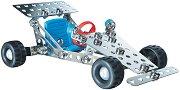 """Мини състезателна кола - Детски метален конструктор от серията """"За начинаещи"""" -"""