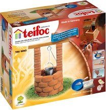 """Кладенец - Детски сглобяем модел от истински тухлички от серията """"Teifoc: Classic"""" - макет"""