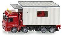Камион с гараж - Mercedes Actros -