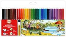 Флумастери - Комплект от 30 цвята