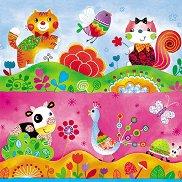 Салфетки - Детски свят - Пакет от 20 броя