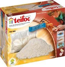 """Хоросан - Строителен материал за сглобяемите модели от малки тухли на """"Teifoc"""" - макет"""