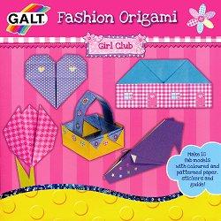 Оригами - Момичешки клуб - Творчески комплект - играчка