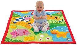 Меко килимче за игра - Животни от фермата - играчка