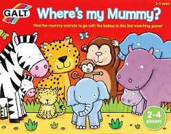 Къде е мама? - Забавна образователна игра -