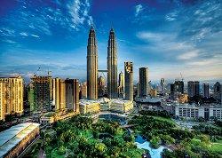 Кулите Петронас, Малайзия - пъзел