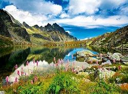 Езерце в Татрите, Словакия - пъзел