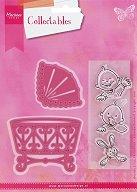 Комплект шаблони и печати - Eline baby - За машини за изрязване и релеф