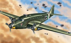 Военен самолет - SM.82 Canguro - Сглобяем авиомодел - макет