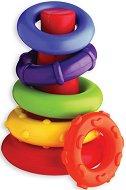 """Конус с цветни рингове - Играчка за нареждане от серията """"My First"""" -"""