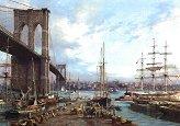 Старият Ню Йорк - В сянката на големия мост - Дюсан Кадлец (Dusan Kadlec) - пъзел