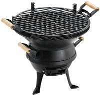 Чугунено барбекю на дървени въглища