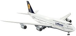 Пътнически самолет - Boeing 747-8 Lufthansa - Сглобяем авиомодел - продукт
