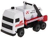 Камион за събиране на отпадъци - Метална играчка - играчка
