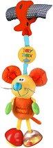 "Мишлето Мимси - Играчка за детска количка и легло от серията ""Toy Box"" - играчка"