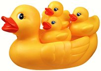 """Семейство патета - Играчка за баня от серията """"Bath"""" - играчка"""